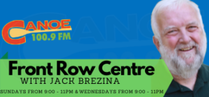 Front Row Centre – Jack Brezina