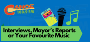 Taped Interviews, Mayor's Reports (Tuesdays) or Your Favourite Music