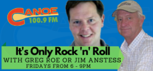 It's Only Rock and Roll – Greg Roe or  Jim Anstess