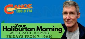 Your Haliburton Morning – Paul Vorvis