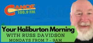 Your Haliburton Morning – Russ Davidson