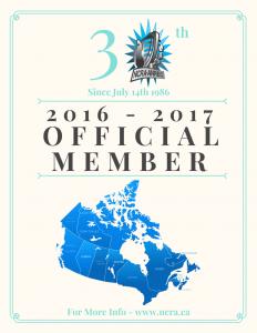NCRA Offical Member Badge