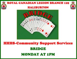Bridge at the Haliburton Legion @ Royal Canadian Legion Branch 129 | Haliburton | Ontario | Canada