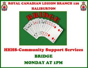 Bridge at the Haliburton Legion @ Royal Canadian Legion Branch 129 | Haliburton | Ontario | Canada