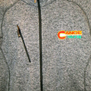 CanoeFM NorthEnd Sport Sweater Jacket $80
