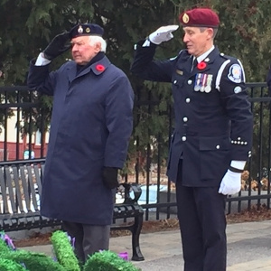 Laying of the CanoeFM Wreath