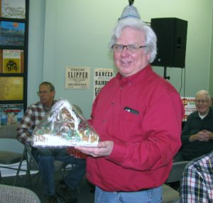 Roger Dart won the gingerbread house
