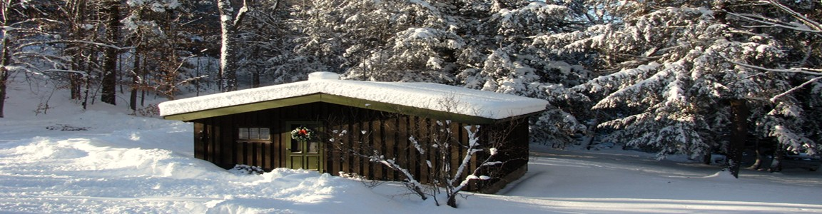 Little Cabin in the Woods on Redstone River