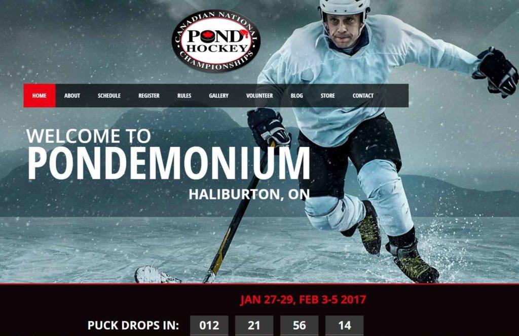 Canadian Pond Hockey Championships 2017 at the Pinestone Resort @ Pinestone Resort  | Ontario | Canada