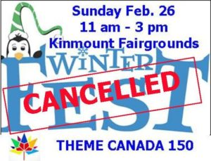 Kinmount Winter Fest @ See poster below for complete details | Kinmount | Ontario | Canada