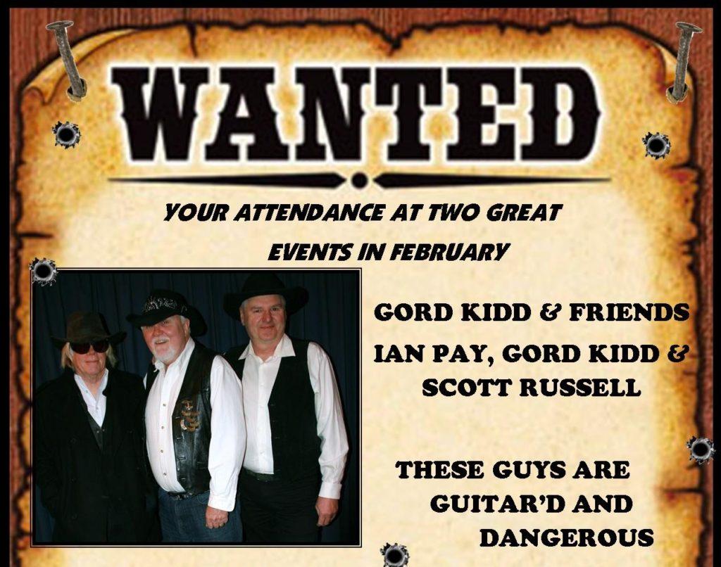 Gord Kidd at Minden Legion @ Royal Canadian Legion Branch 636 Minden | Minden | Ontario | Canada