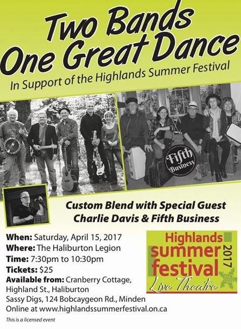 Two Bands One Great Dance at the Haliburton Legion @ Royal Canadian Legion Branch 129 Haliburton | Haliburton | Ontario | Canada