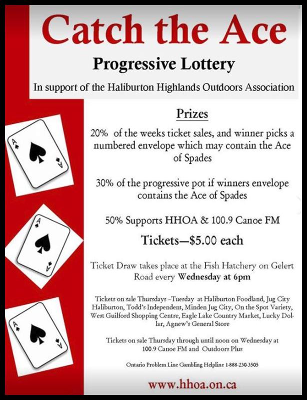 Catch the ace lottery – canoe fm.