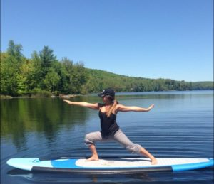 Floating Fitness @ Deep Roots Adventure and SUPnorth | Wilberforce | Ontario | Canada