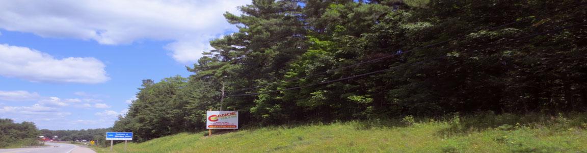 Canoe FM on Hwy 35