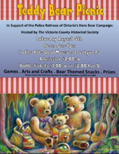 Teddy Bear Picnic at the Olde Gaol Museum in Lindsay @ Olde Gaol Museum | Lindsay | Ontario | Canada