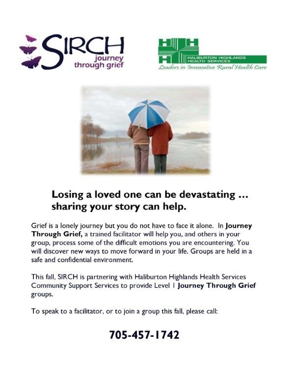 Journey Through Grief Group @ See Poster