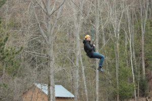 """High Five! for a """"Zip Line"""" experience at the Medeba Adventure Learning Centre @ Camp Medeba  