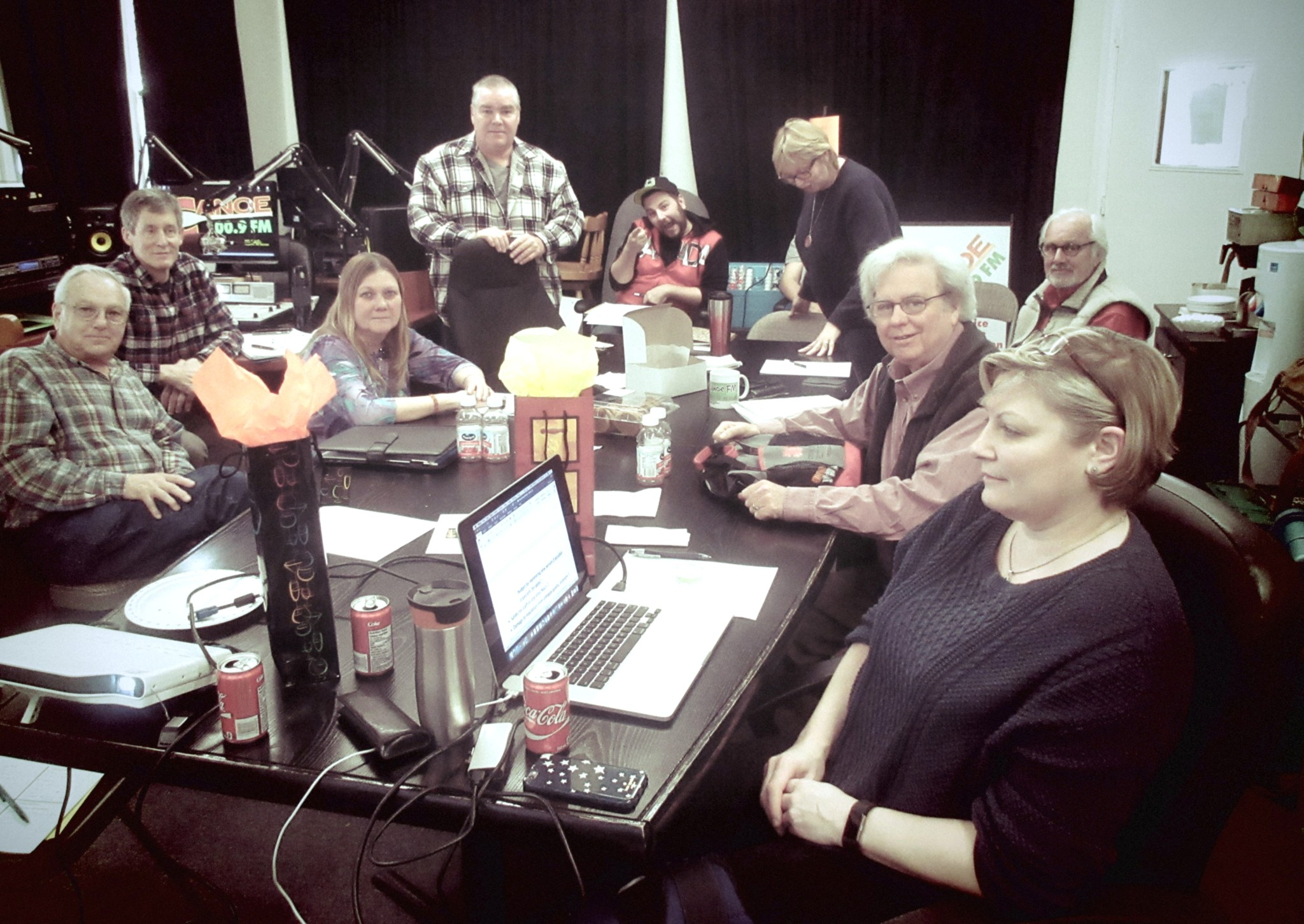 The Canoe FM's Board of Directors at the Annual Board Training Workshop