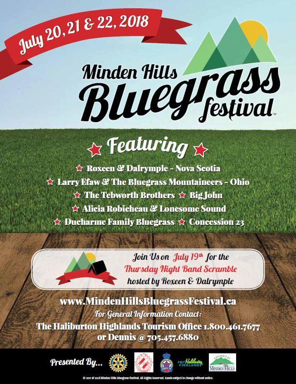 Bluegrass Festival in Minden Hills @ Fairgrounds | Minden | Ontario | Canada