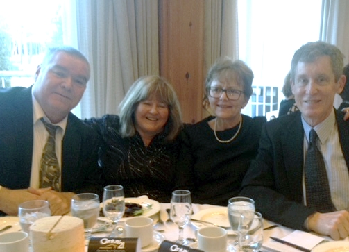 Canoe FM Board of Director's members(Dan Sullivan & wife and Paul Volvis & wife) at the Haliburton County Chamber of Commerce Gala on March 17, 2018 (photo by Nancy Brownsberger)Canoe FM Board of Director's members (Dan Sullivan & wife, Sharon and Paul Vorvis & wife, Sue ) at the Haliburton County Chamber of Commerce Gala on March 17, 2018 (photo by Nancy Brownsberger)
