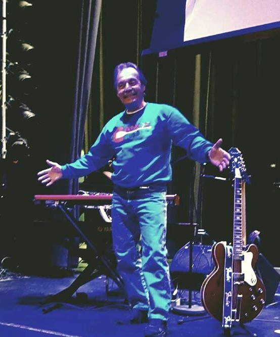 Canoe FM's Patrick Monaghan At The Regent Theatre In Oshawa Getting Ready For The Sold Out Downchild Blues Band Concert !