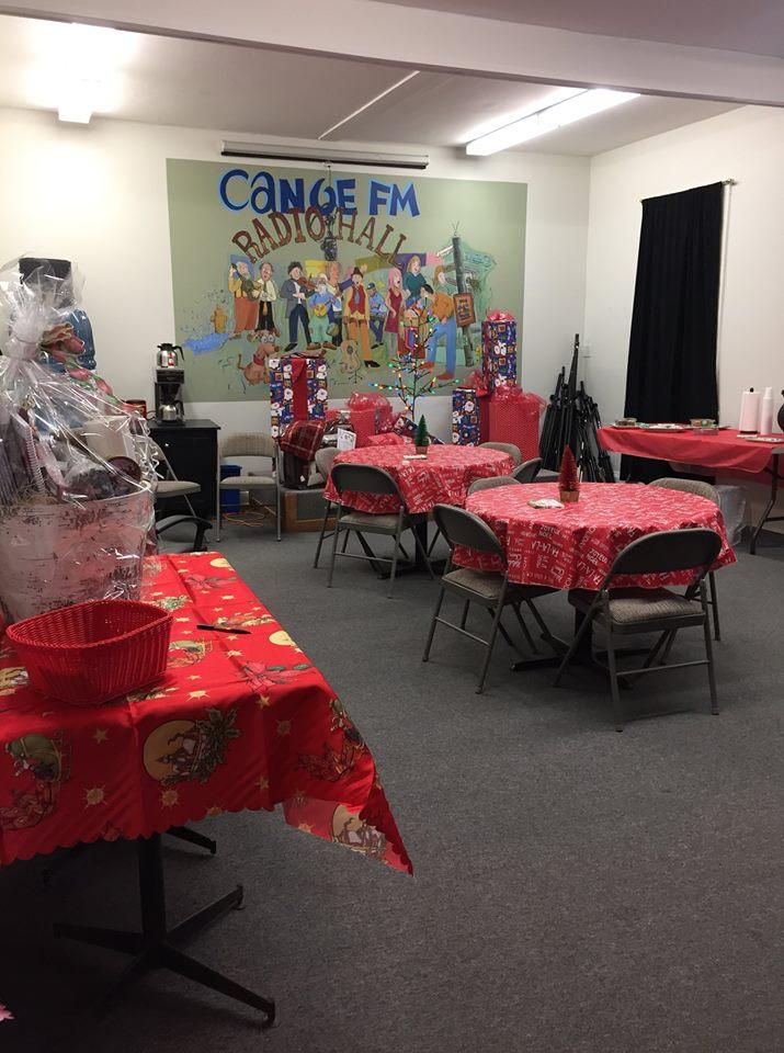 Canoe FM Christmas Open House is all ready for Thursday, December 6, 2018