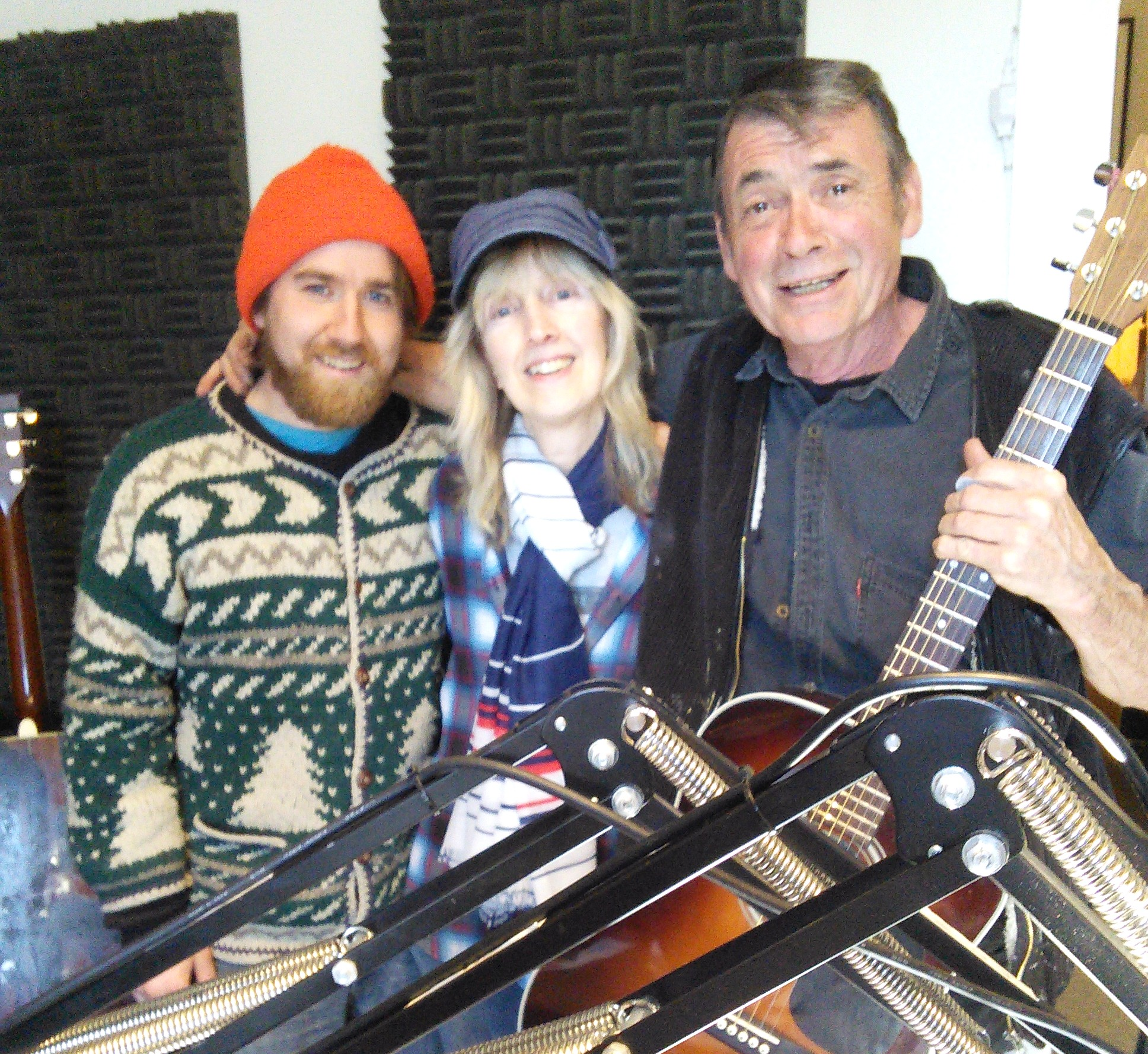 Scotty Dugan & Hank O'Reilly on Northern Aire with Penny- Randall Mowbray