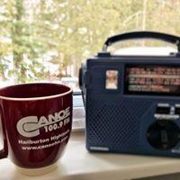 Keep your radio tuned to 100.9 Canoe FM