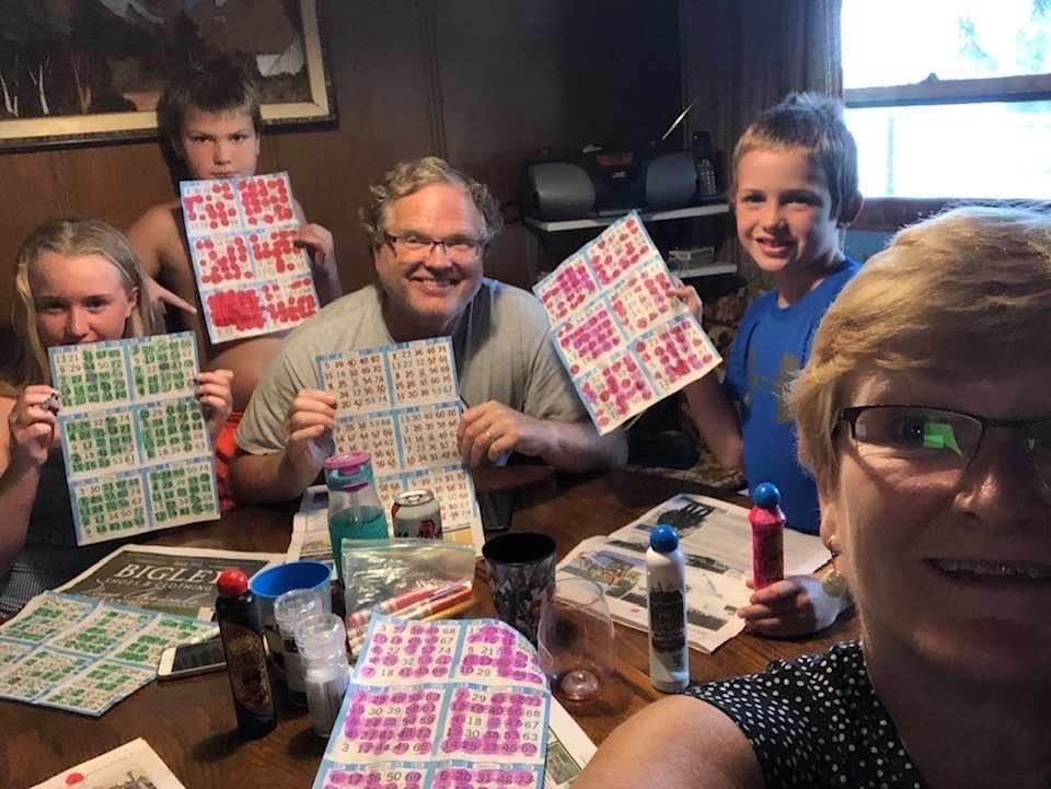 Play Radio Bingo with your Family - Tuesday nights at 6pm