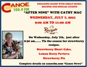 Cathy Mac on After Nine on Jul 7th