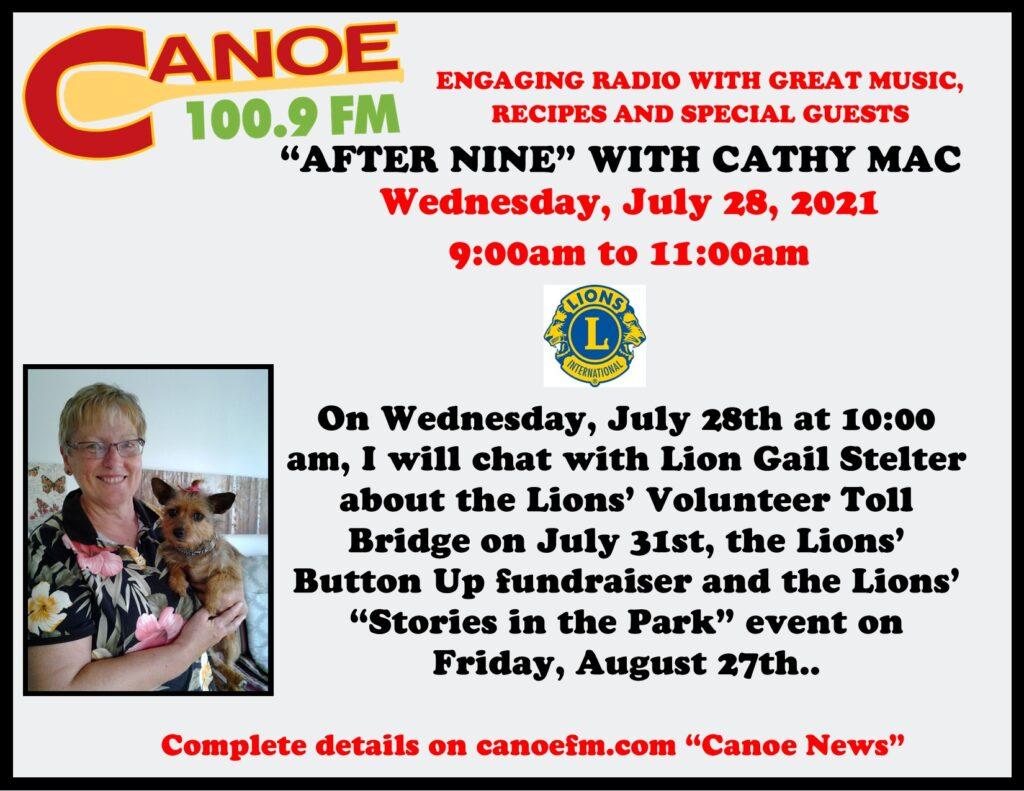 2021,July 28 Cathy Mac