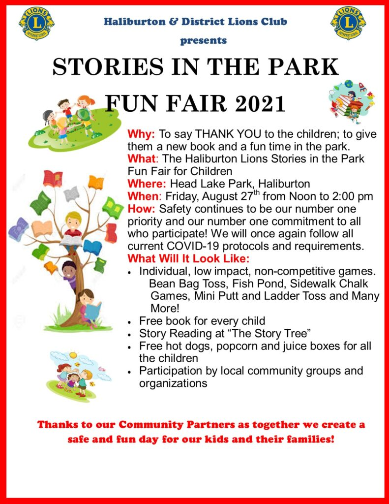 Stories In The Park Poster 2021 Modified