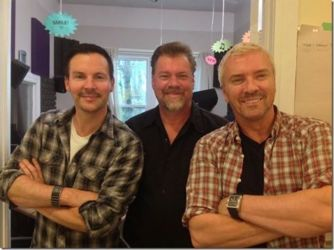 Colin & Justin Drop in to Canoe FM