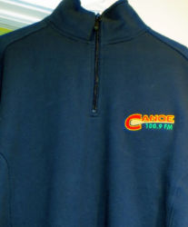 CanoeFM ATC Pro Fleece 1/4 zip Sweatshirt $50