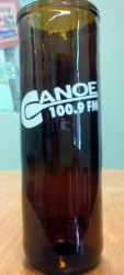 Canoe Fm Beverage Glass $20