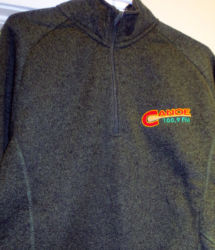 CanoeFM Devon & Jones 1/2 zip sweater $65