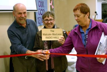 Renaming the radio hall to the Malcolm Maclean Radio Hall