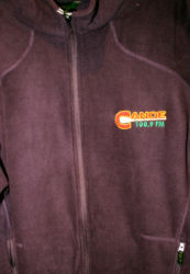 CanoeFM NorthEnd Fleece Jacket $65